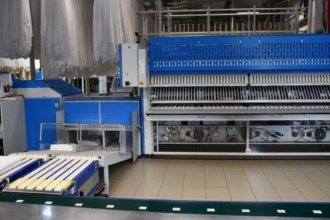Come funziona una lavanderia industriale