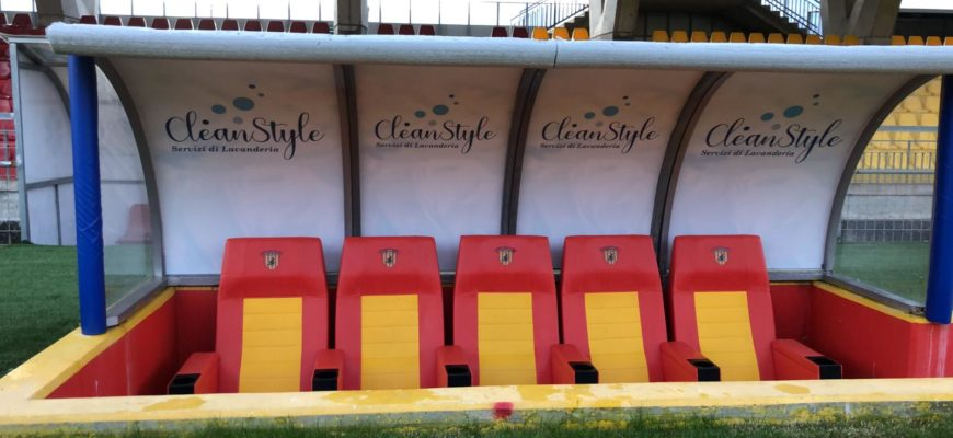Clean Style partner del Benevento Calcio